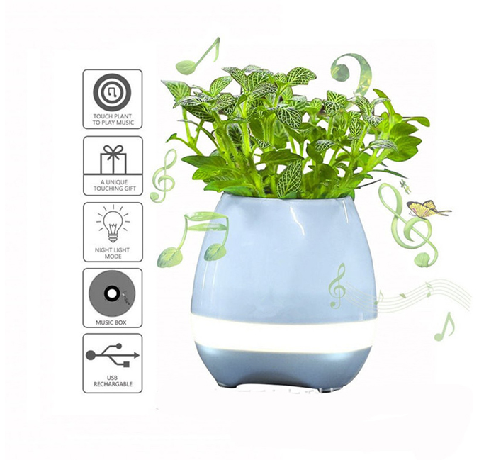 Music Flowerpot Bluetooth Speaker