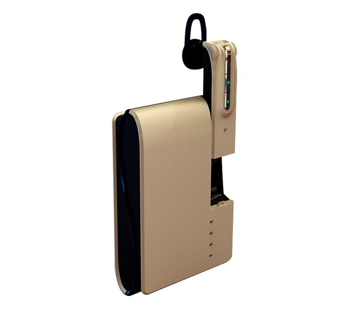 Power Bank With Bluetooth Headset