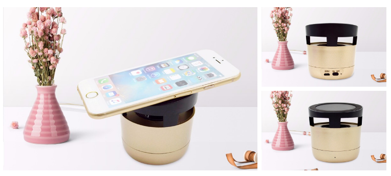 Wireless Charger Bluetooth Speaker