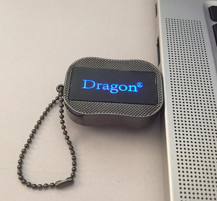 Lighting Logo USB Flash Drive