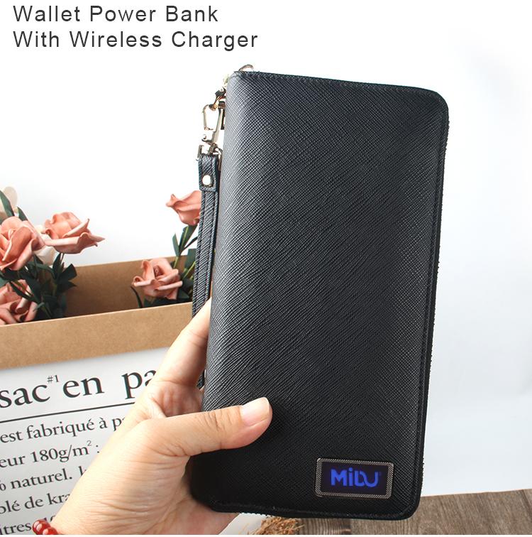 Lighting Logo Wallet Power Bank