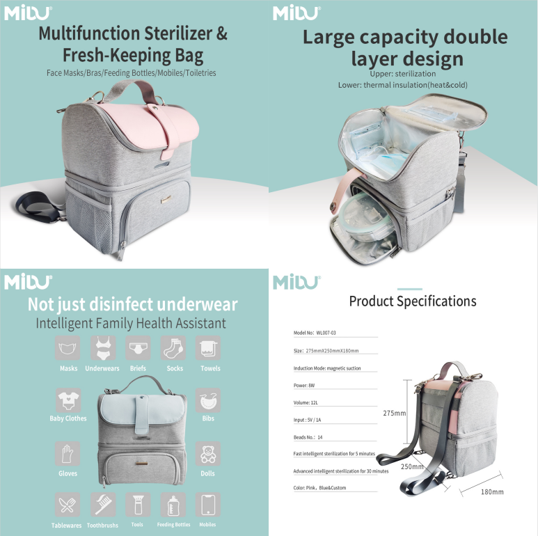 UVC Sterilizer Backpack