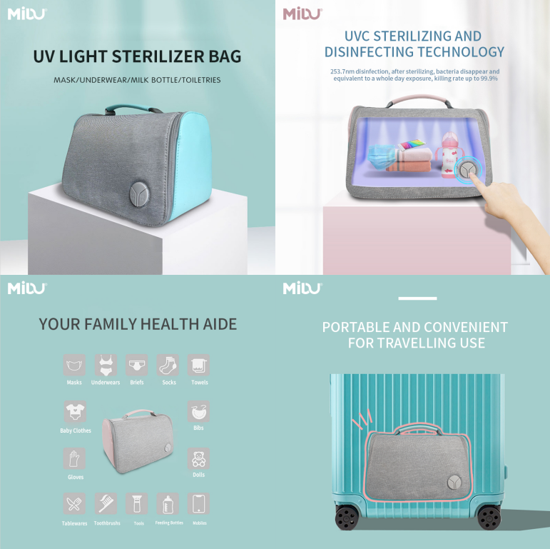 UVC LED Sterilizer Bag