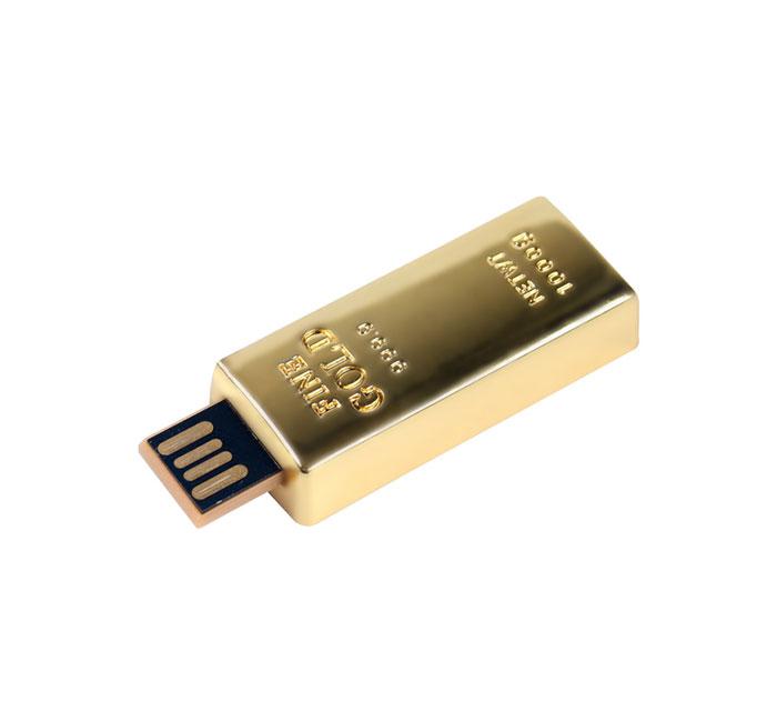 Gold Bar USB Flash Drive