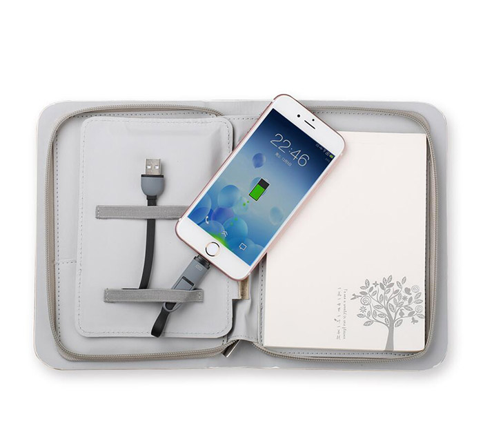A6 Size Diary Power Bank