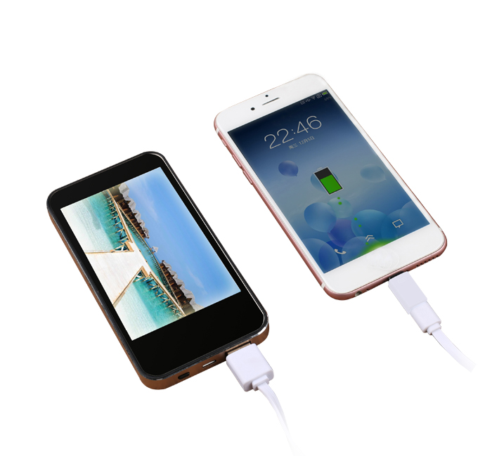 I6 LED Color Screen Power Bank