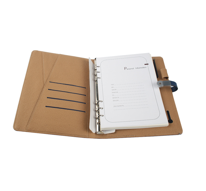 Agenda With Power Bank And USB