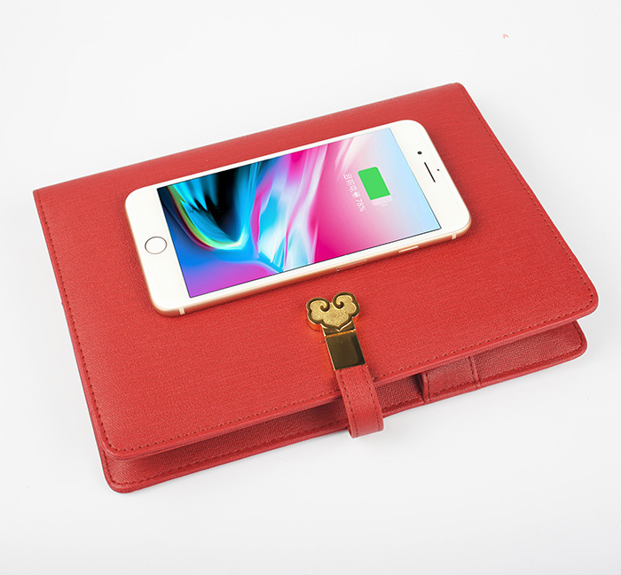 Wireless Charger Notebook with USB