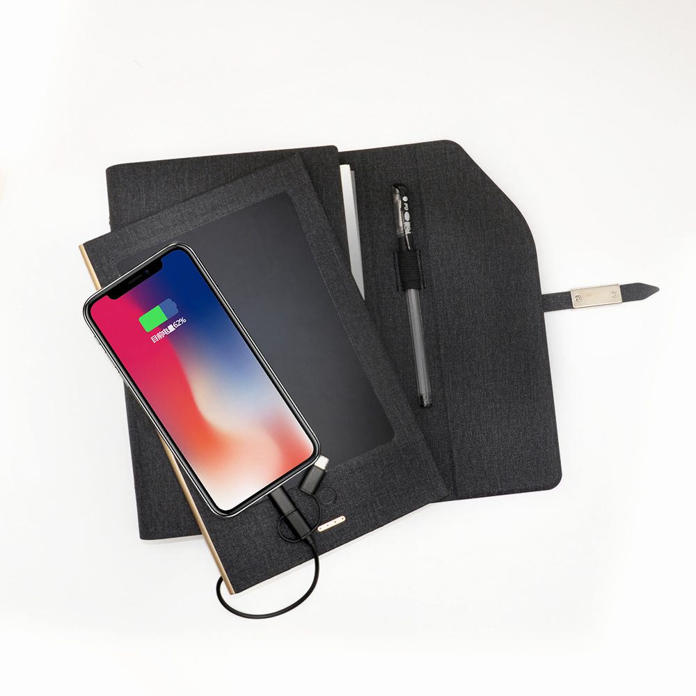 Writing Pad Power Bank Notebook