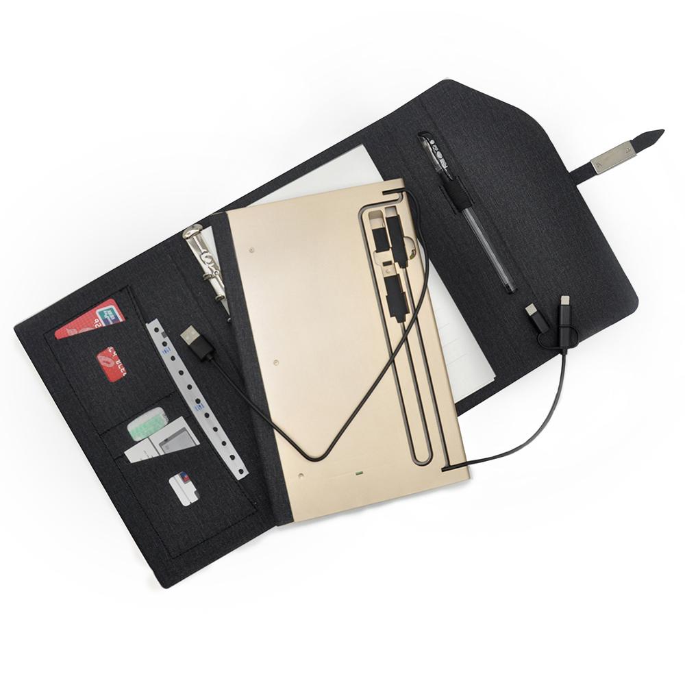 Writing Pad Power Bank Notebook