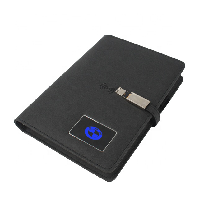Shaking Lighting Logo Notebook Power Bank