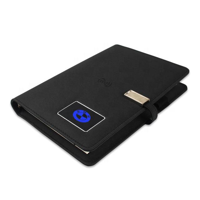 Shaking Lighting Logo Notebook Power Bank