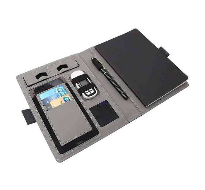 A5 Organizer Wireless Charger Notebook